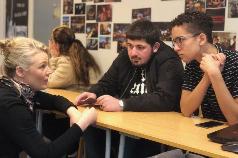 Skolebesøk og workshop i Stavanger